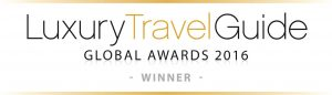 luxury travel guide award winner 2016
