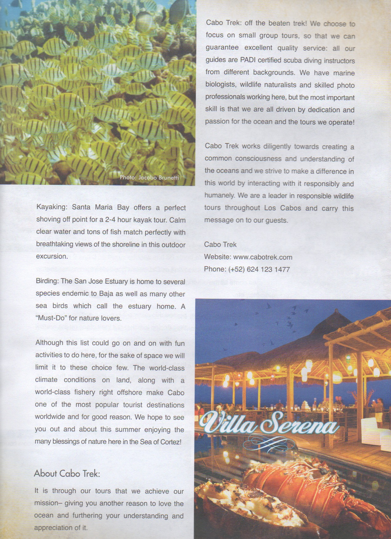 The good life Los Cabos - article 2of2