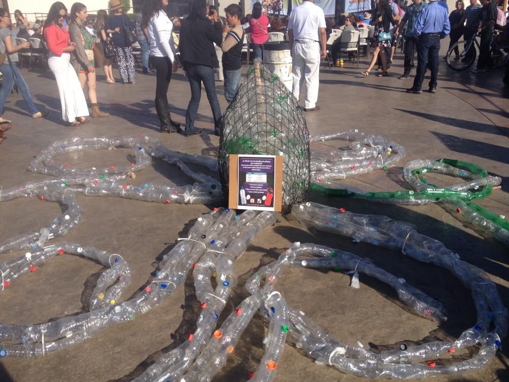 Plastic Monument