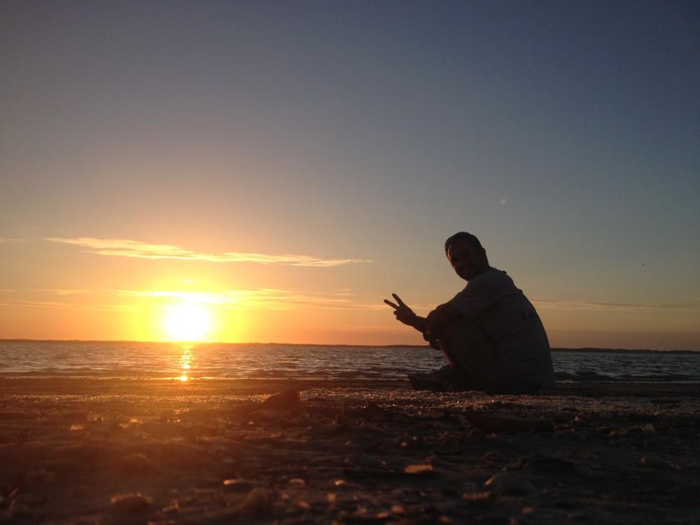 Philipp by Sunset